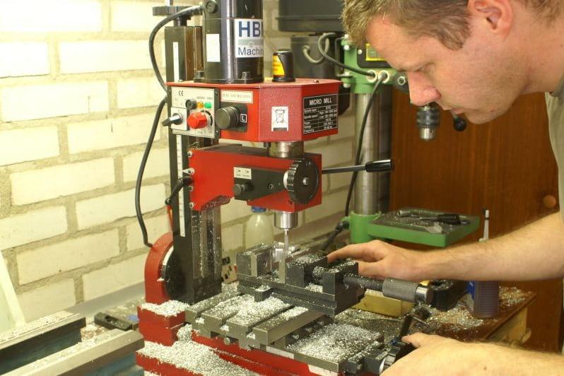 F16 Me milling/machining landinggear parts