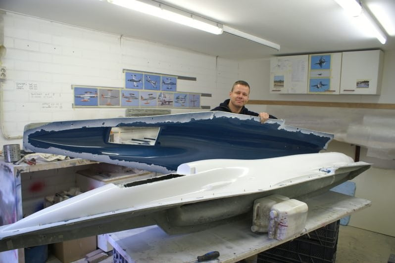 F16 Realeasing the moulds, birth of my new baby!