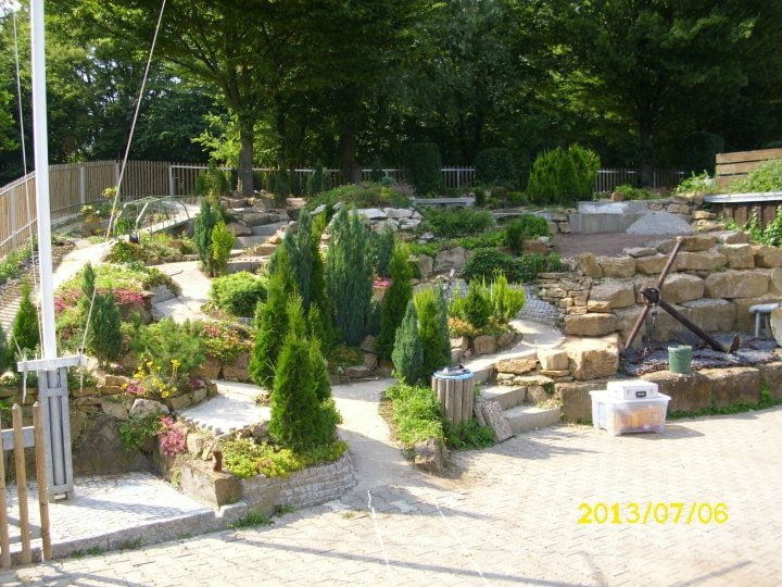 Buiten baan midden nl - Kleine tuin zen buiten ...