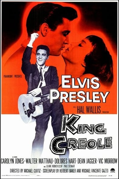 Filmposter: King Creole