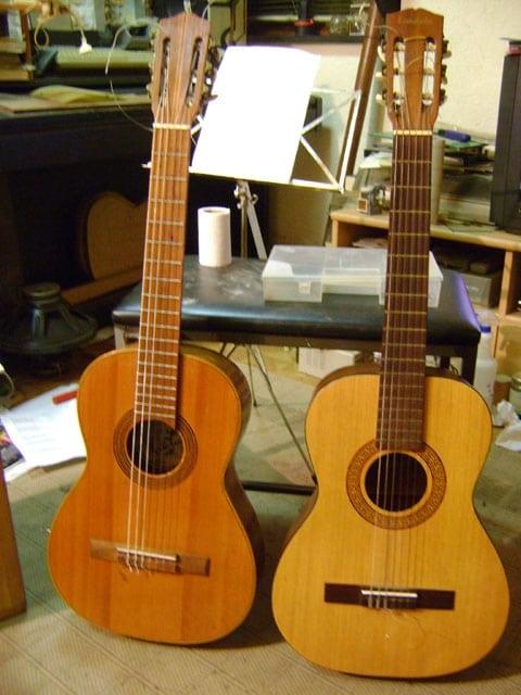 spaans akoestische gitaar stalen snaren