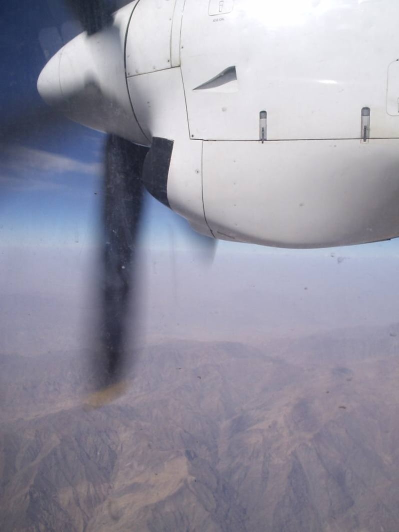 RH Engine above Kabul