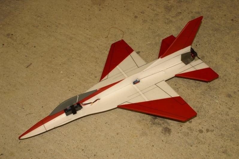 depron F16