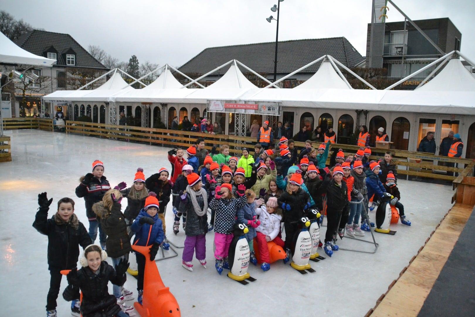 Wijchen schaatst