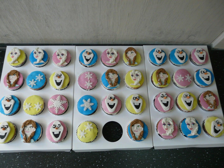 cupcakes frozen maken