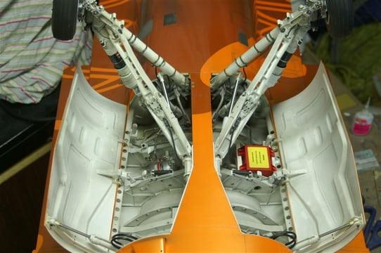F16 Wheel well