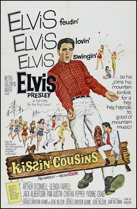 Filmposter: Kissin' Cousins