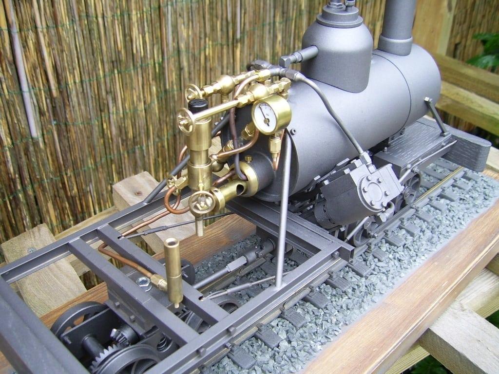 heisler locomotive live steam