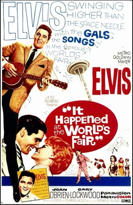 Filmposter: It Happened at the World's Fair