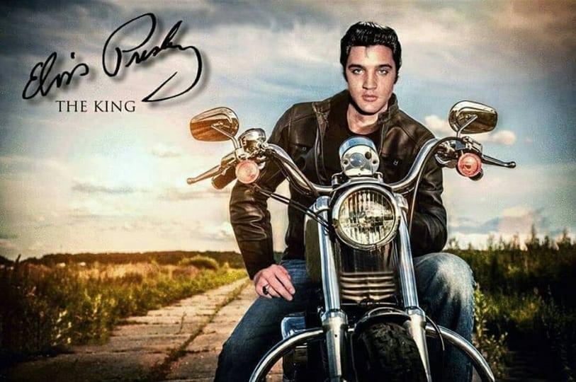 Elvis Presley op Motor
