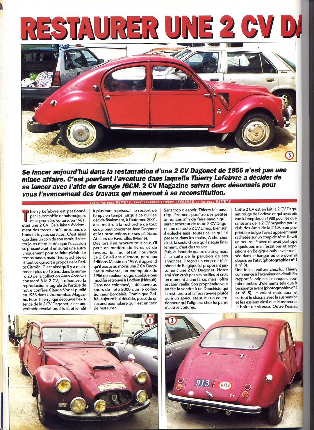 kit car 2cv