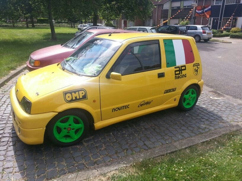 Fiat Cinquecento Abarth Turbo Benny Schoolmeester