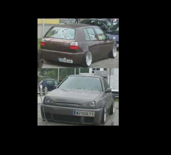 vwvortex - new from holland vw golf 3 vr6 turbo clean look