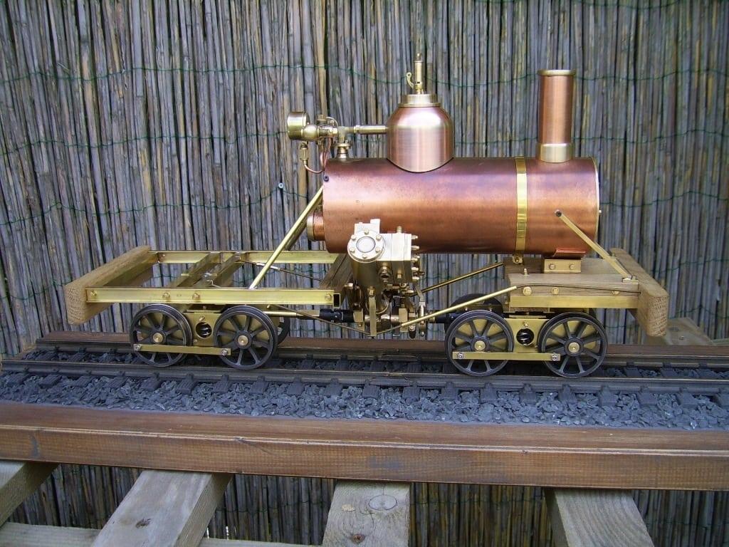 heisler live steam locomotive project