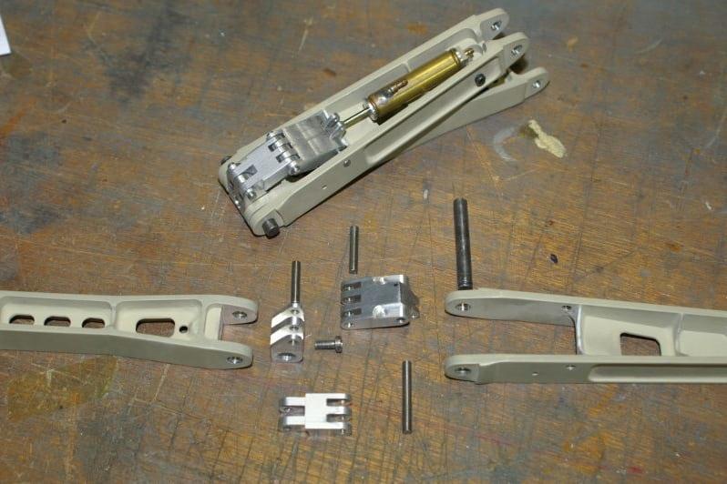 F16 Main gear dragbrace parts