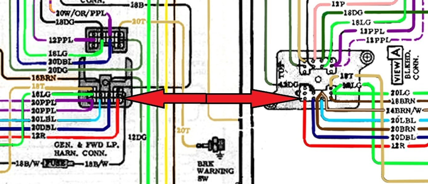 Color Wiring Diagram Finished Page 11 The 1947 Present 82 Chevy Truck Grounding Locations So One More Questionwhat Are Numbers In Front Of Colors 18 Br 20 Etc