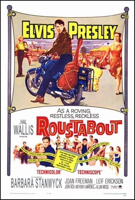 Filmposter: Roustabout