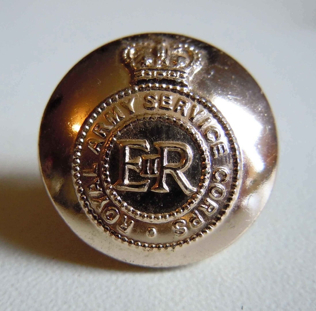 bouton dore anglais royal army service corps 19 mm ebay. Black Bedroom Furniture Sets. Home Design Ideas