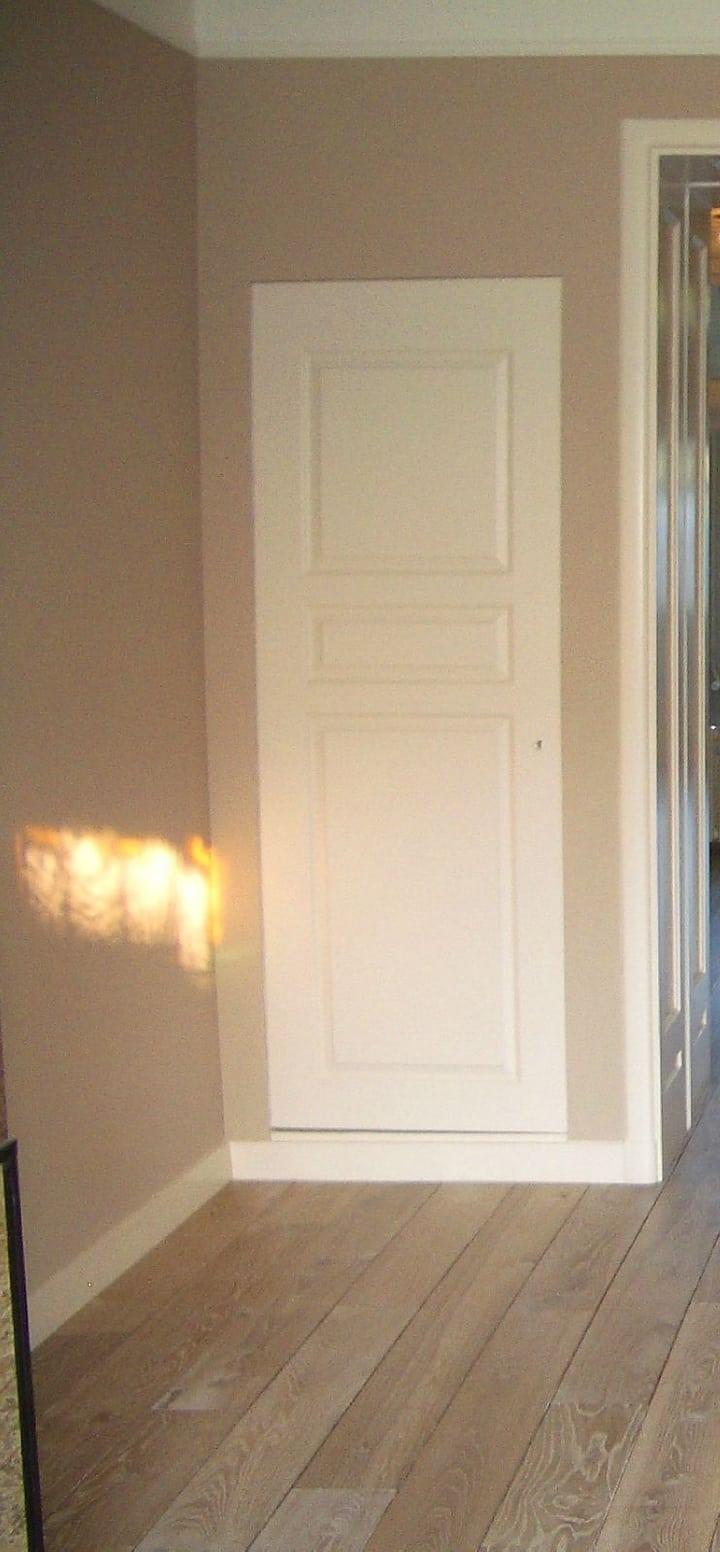 Muur kleur ideeen ideeen slaapkamer muur spscents - Grijze wand taupe ...