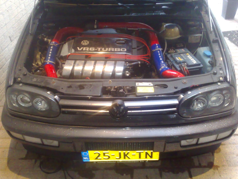 Vr6 Turbo Auto Staat Bij de