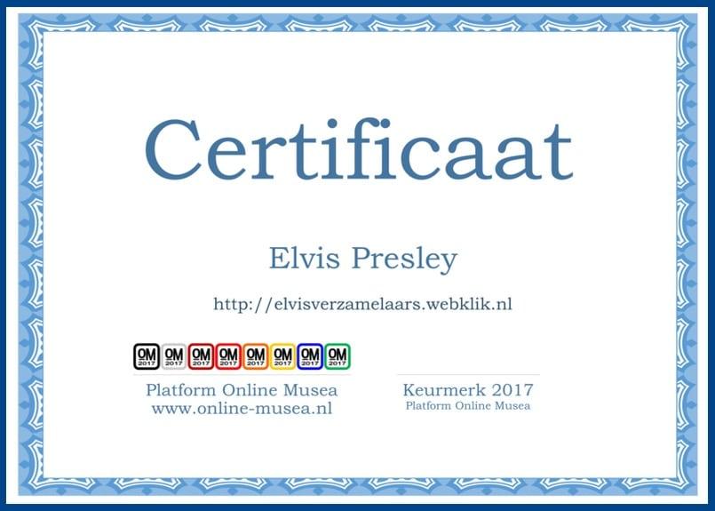 Online Musea Keurmerk 2017