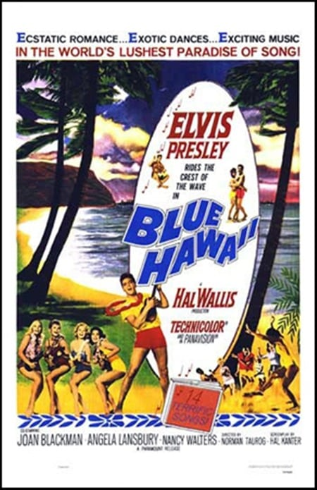 Filmposter: Blue Hawaii