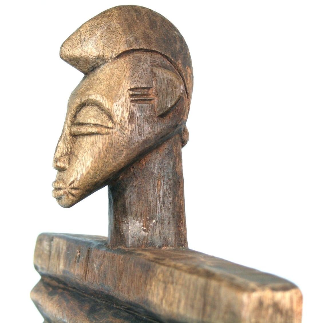 Art Africain  Objet Usuel Ancien  Machine à Laver en