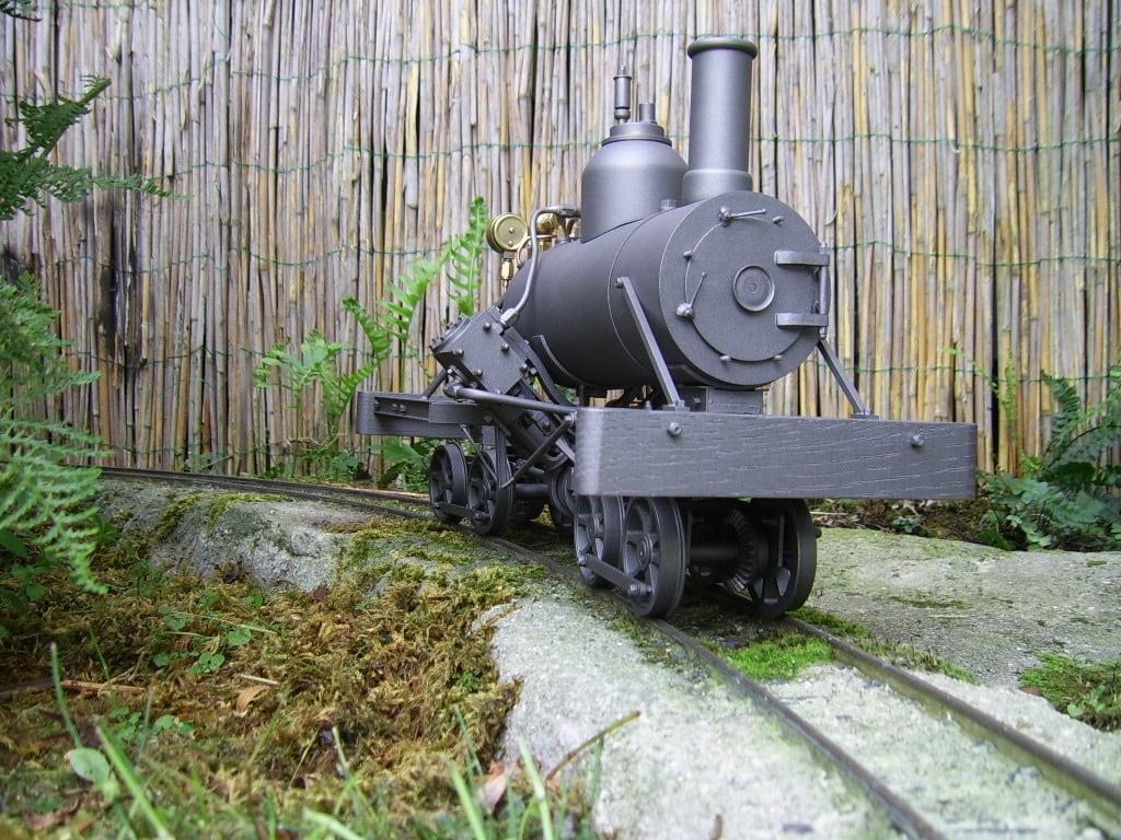 Heisler, locomotive, live steam