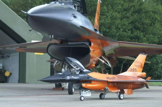 F16 with full-size