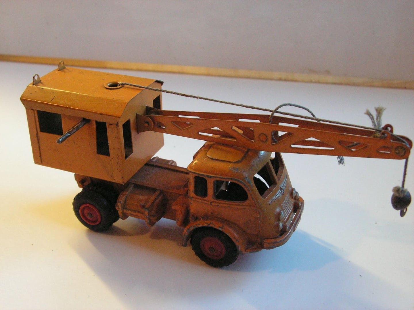 crane tracteur routier renault grue faineant cij original vintage ebay. Black Bedroom Furniture Sets. Home Design Ideas