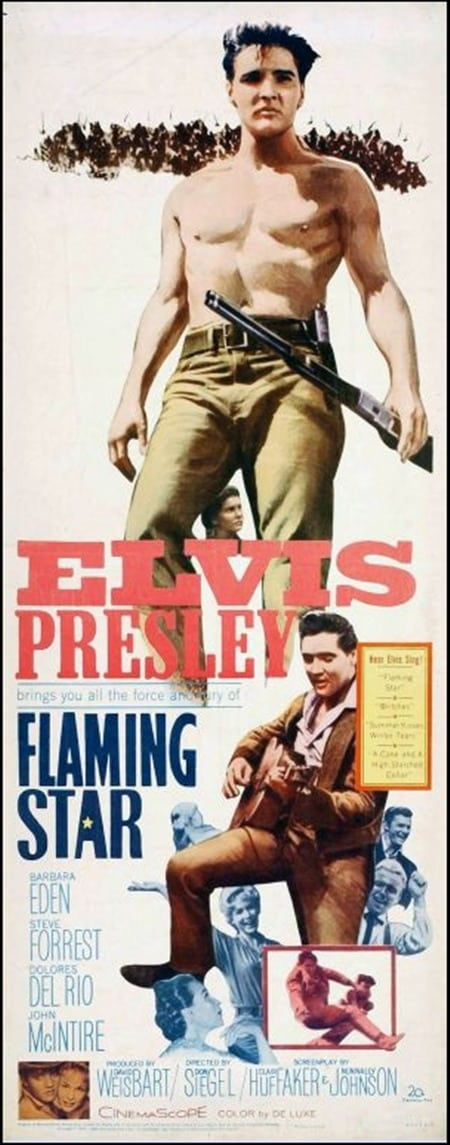 Filmposter: Flaming Star
