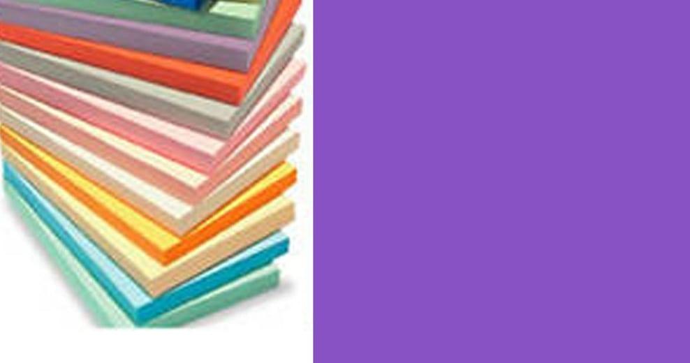 lot 40 feuilles de papier a4 couleur violet pour scrapbooking 80g imprimantes. Black Bedroom Furniture Sets. Home Design Ideas