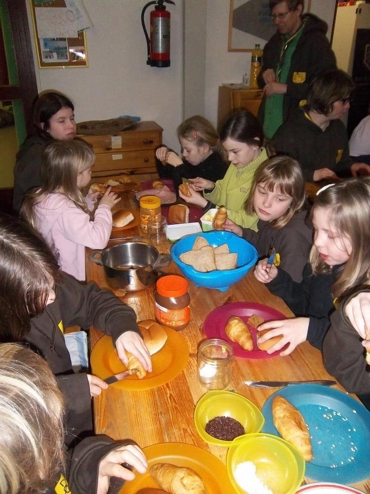 tafel groepjes maken