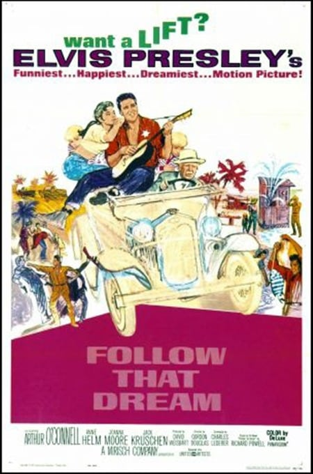 Filmposter: Follow that Dream