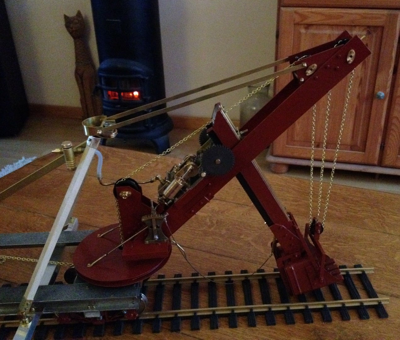 Bucyrus steam shovel