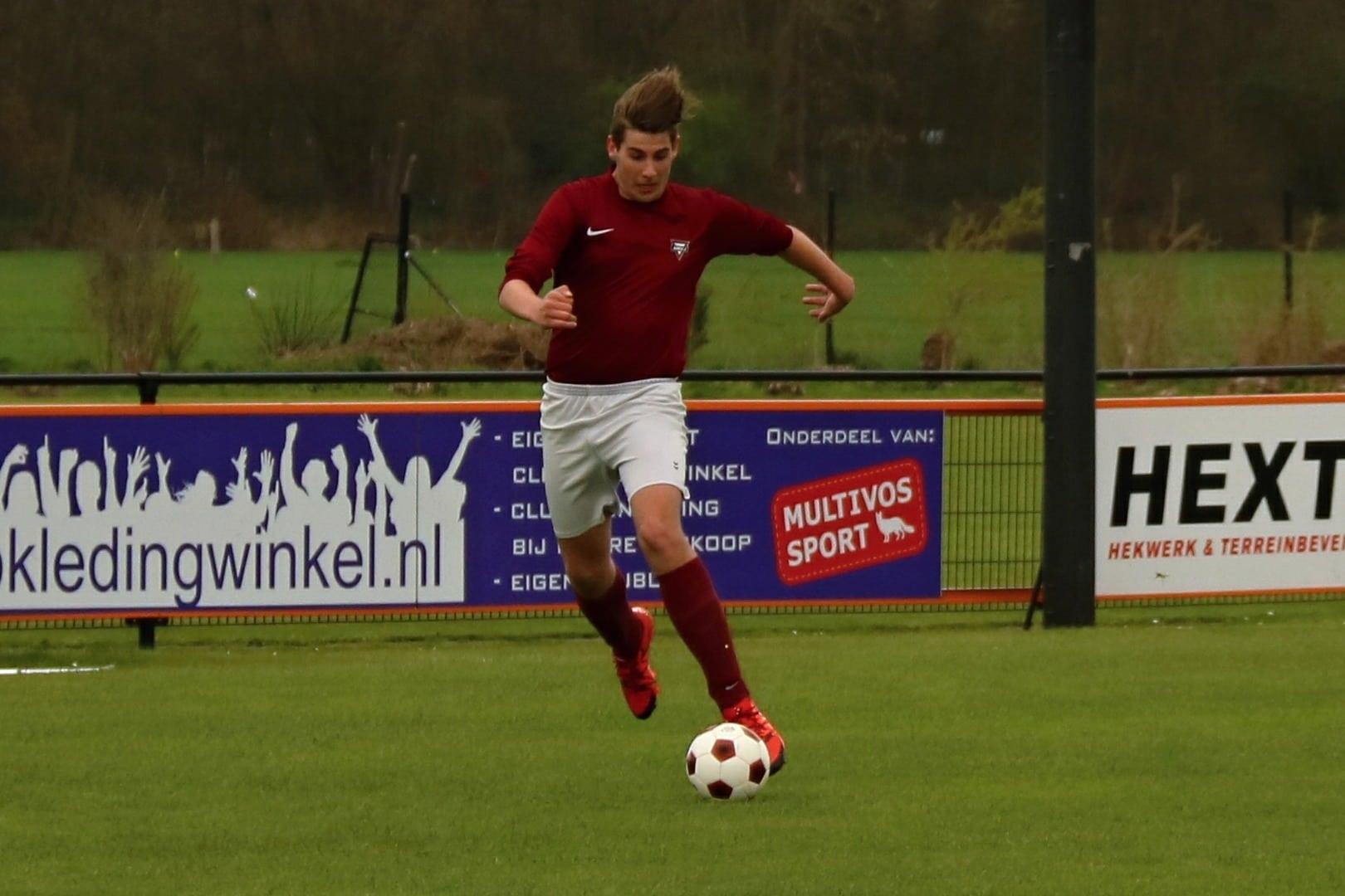 Voetballen in Amsterdam