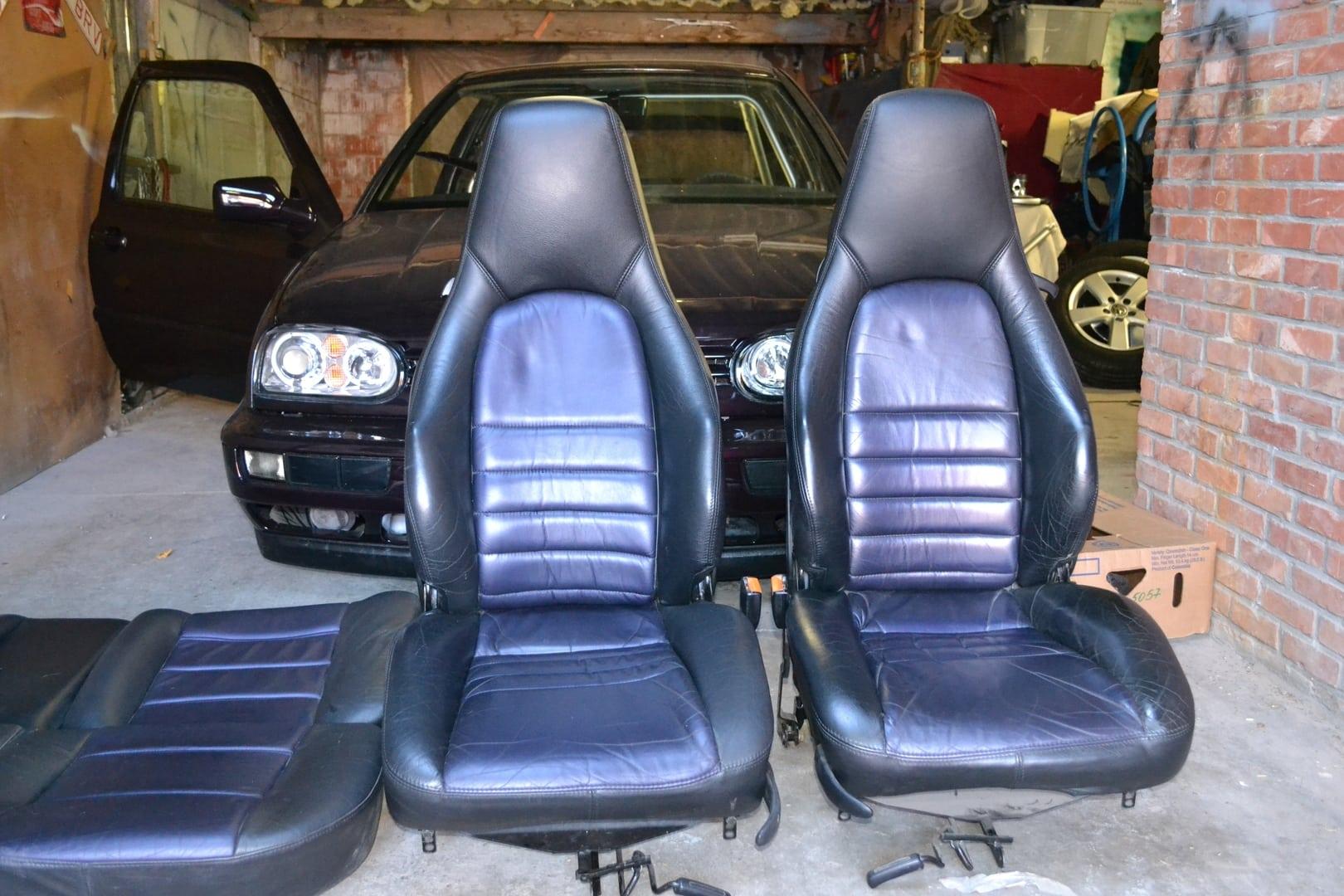 Golf 3 Leren Stoelen.Volksforum Com Golf 3 Lederen Interieur Porsche Turbo Stoelen