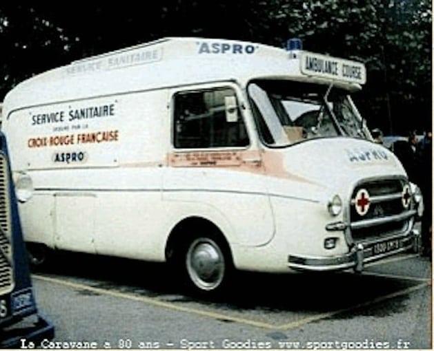 CITROEN HY, AMBULANCE ASPRO DU TOUR DE FRANCE 1958 GroteFoto-ZOZ3MZ7E