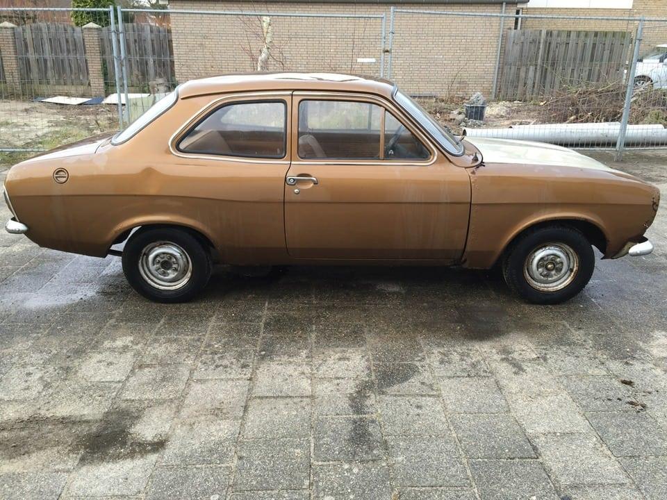 1972 Escort Mk1 1100 2dr - Netherlands - €2,900 - OLD SKOOL FORD ...