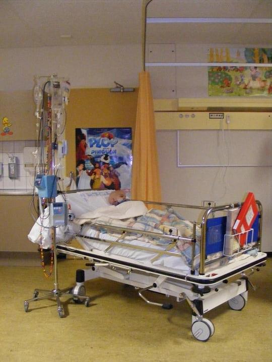 Chemo kuur 11 - Ligbad in het midden van de kamer ...