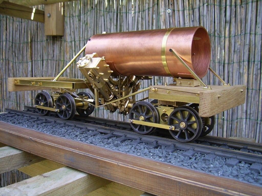 Heisler Locomotive Project