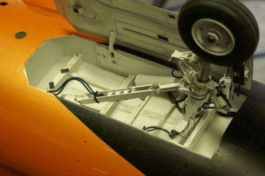 F16 Making wheel well