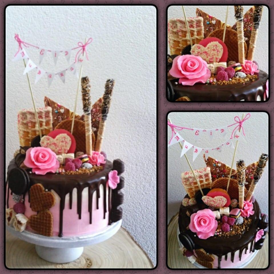 Naked drip cake (Pagina 1) - Taarten Parade