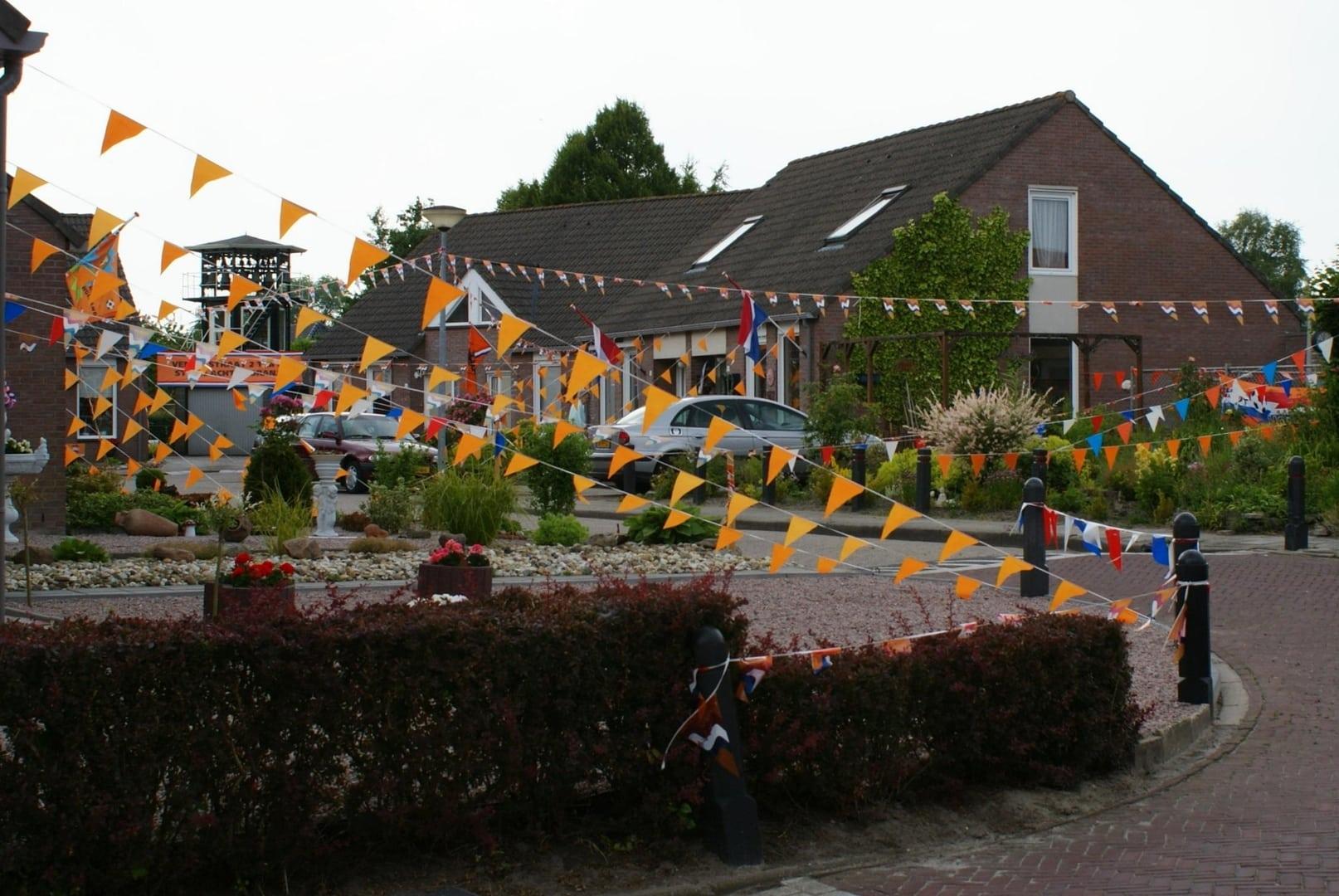 Heiligerlee 2010 Oranje Vendelstraat
