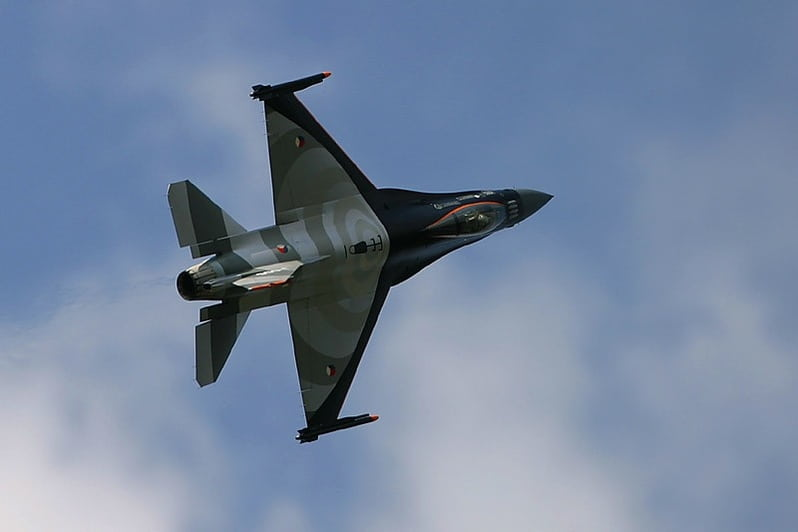 F16 Demo flight