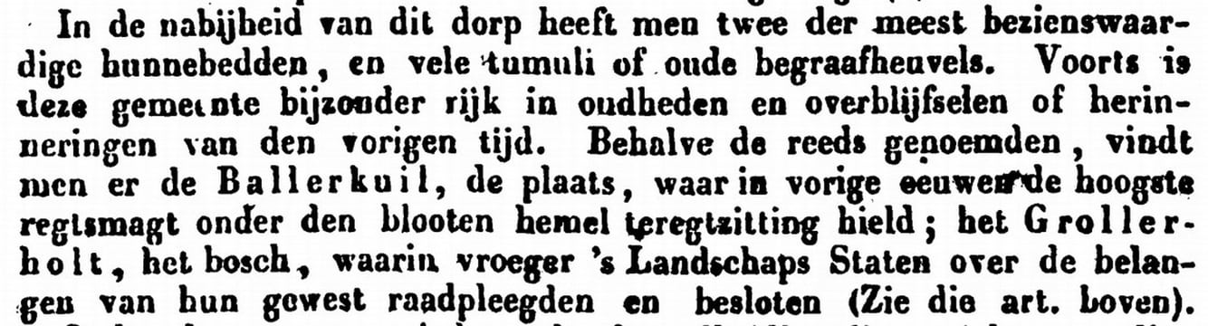 1847 boek Grollerholt