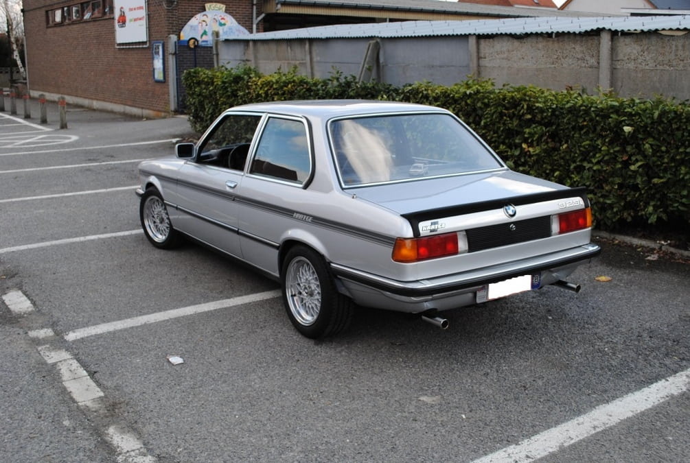 SpeedArena.com - Tell me about the BMW E21 323is Hartge Edition