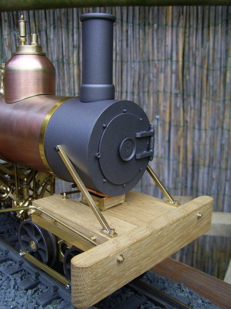 heisler smoke box live steam locomotive