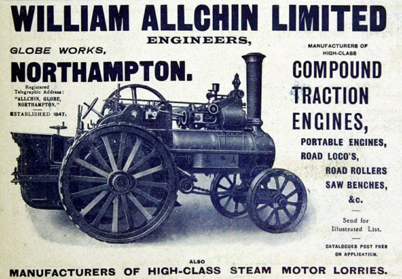 Allchin steam