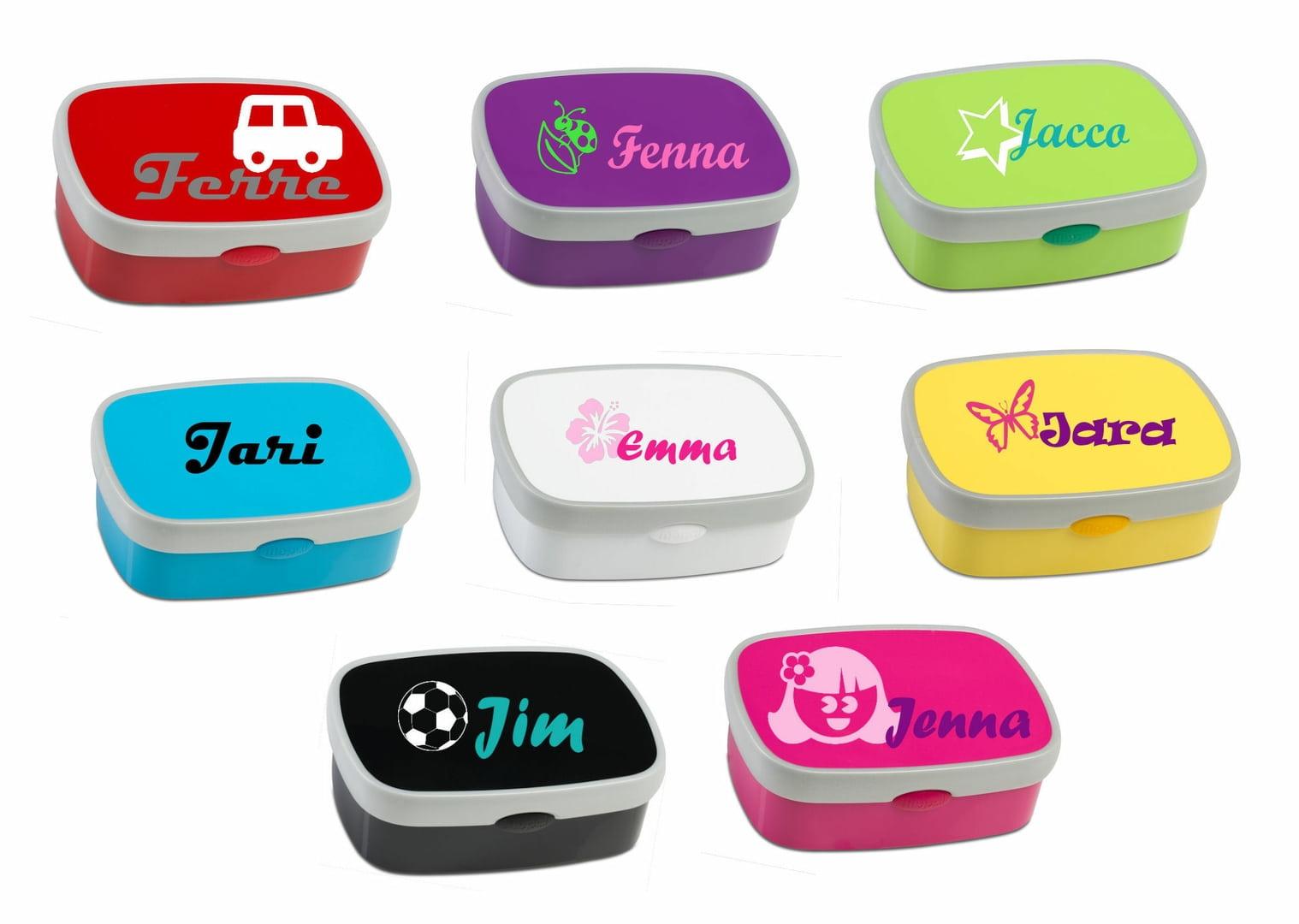 lunchbox met naam mepal